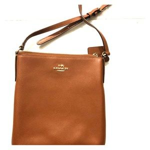 Coach Kitt Messenger Crossbody, Saddle Brown